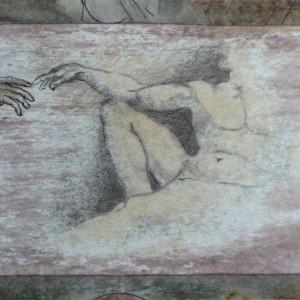 Az érintés / The Touch (1980, vegyes, 19 cm x 15 cm)