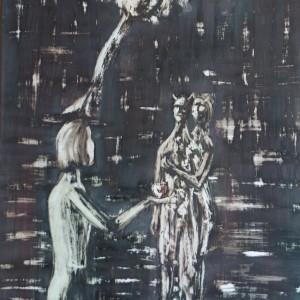 Az alma / The Apple (1981, vegyes, 35 cm x 50 cm)