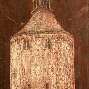 Emlék 3 / Memento 3 (1981, vegyes, 16 cm x 32 cm)