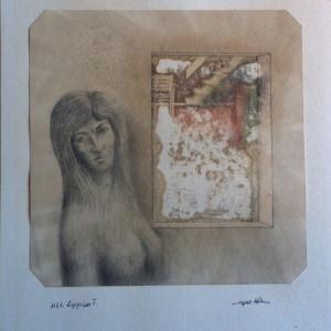Zsuzsa / Susan (1981, vegye, 30 cm x 42 cm)