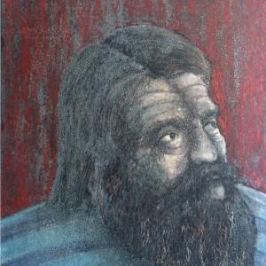 Péli (1986, zsírkréta, 29,5 cm x 41,5 cm)