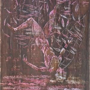 Ikarusz / Ikarus (1988, vegyes, 30 cm x 43 cm)