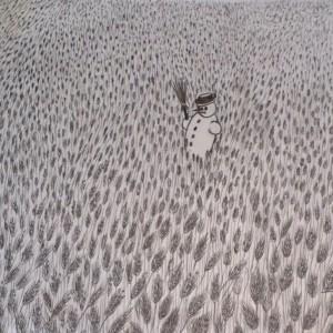Szakértő / Expert (1993, grafit, 27,5 cm x 19,5 cm)