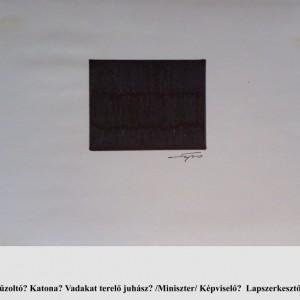Balázsok / The Balázses (1993, grafit,  27,5  cm x 19,5 cm)