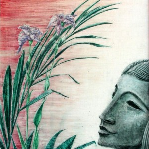 Anna (1994, akvarell, 38 cm x 48 cm)