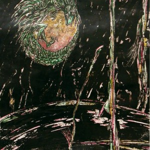 Holdrabló / Moonthief (1994, akvarell, 25 cm x 35cm)