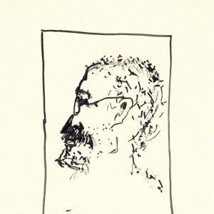 Borvirág / Ruby (2000, tus, 9 cm x 13 cm)