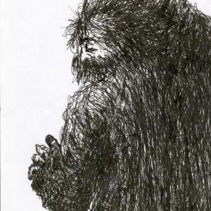 A düh / The Anger (2004, toll, 15 cm x 21 cm)