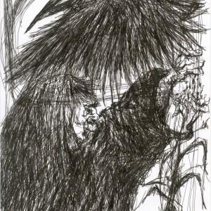 Rokonok / Relatives (2004, toll, 21 cm 29,5 cm)