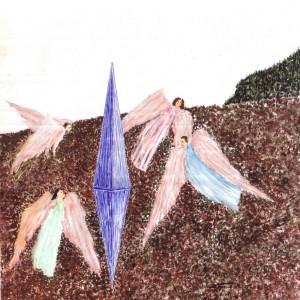 Angyalok / Angels (2009, grafit-tus)