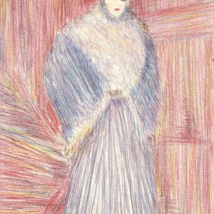 Bundás nő / Woman in Fur Coat
