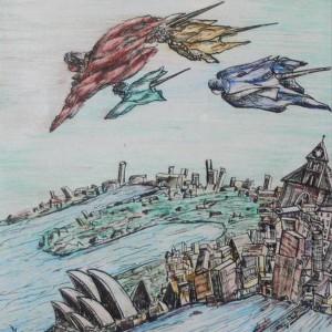 Sydney (1999, akvarell)