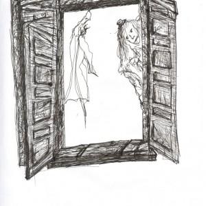 Kukucs! / Peek-a-boo! (2003, toll, 21 cm x 29,5 cm)