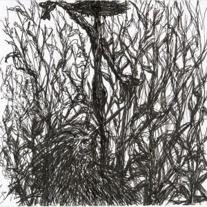 Mimikri / Mimicry (2003, toll, 15 cm x 14,8 cm)